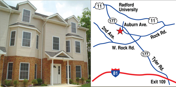 Radford townhome for rent
